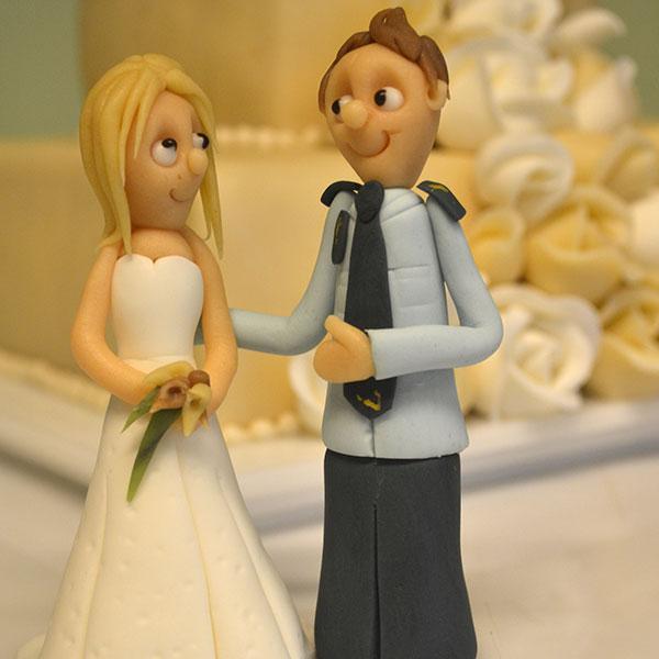 Brudepar-betjent