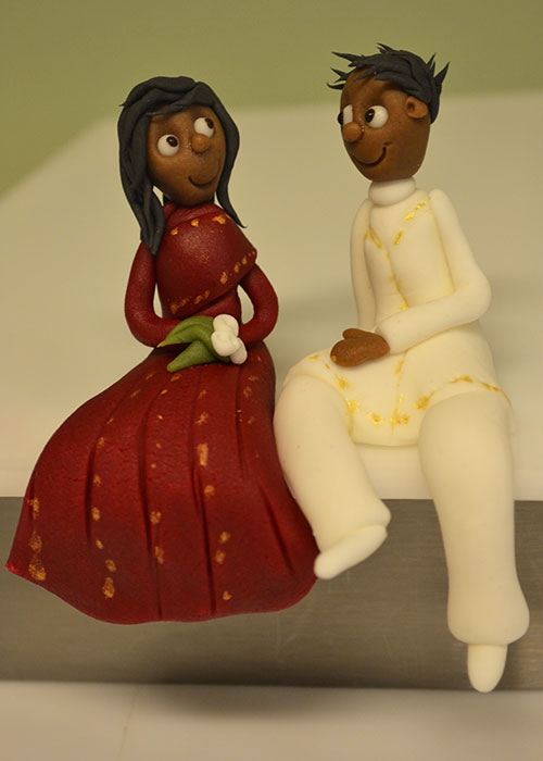 Brudepar-kage