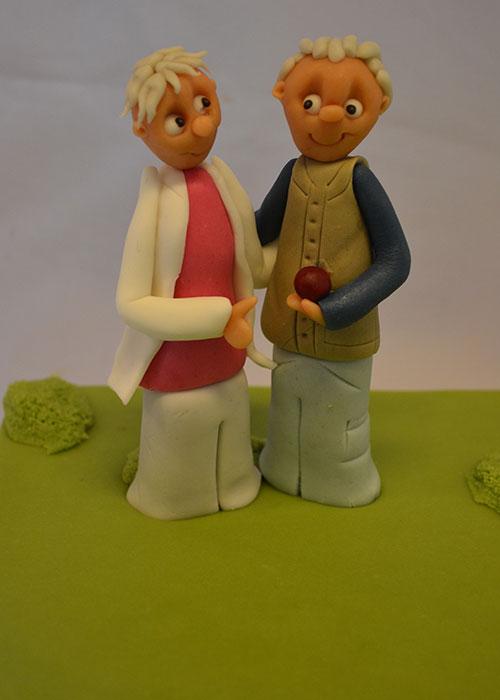 Brudepar-til-guldbryllup