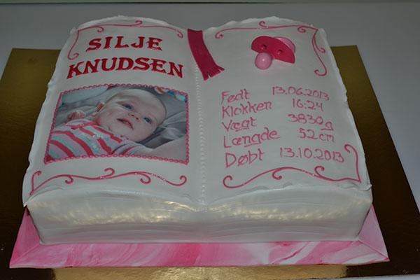 Dåbsbog-kage