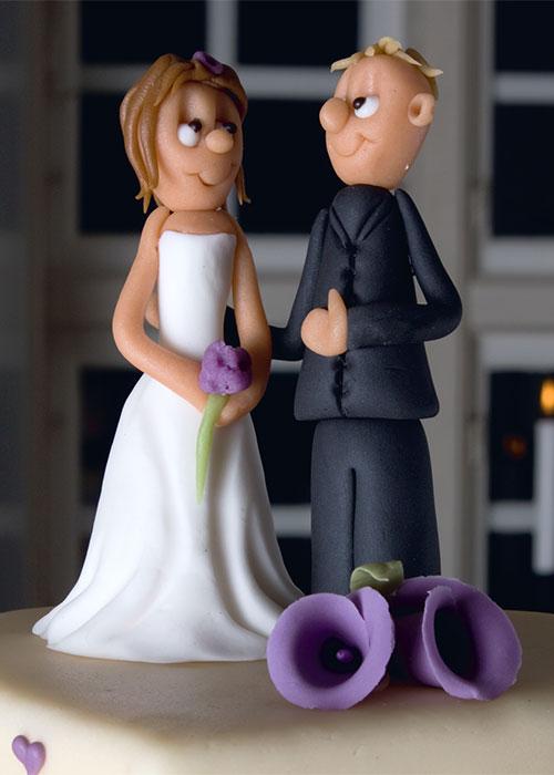 Fondant-brudepar