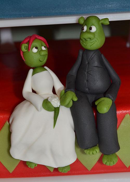 Håndlavede-brudepar