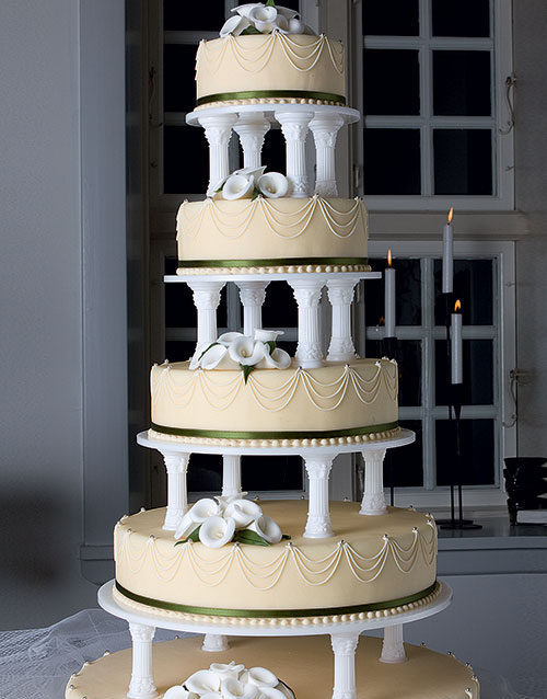 Klassisk-bryllupskage