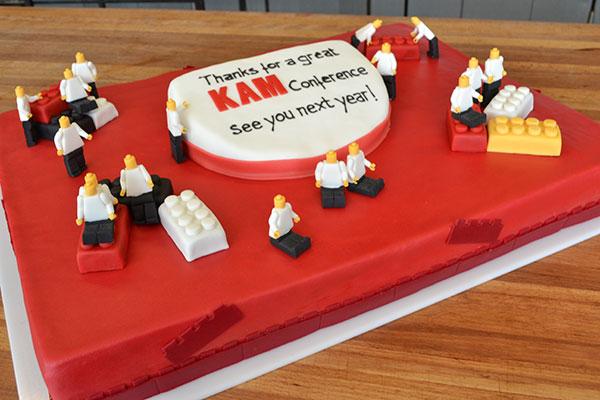 LEGO-kage-til-konference