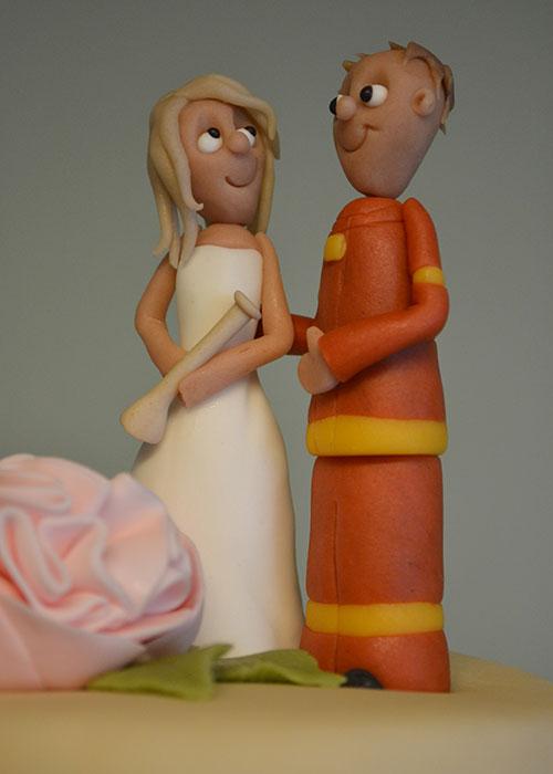Marcipan-brudepar