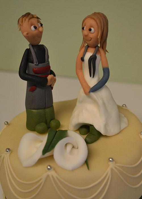 Pynt-til-bryllupskage