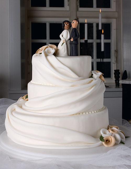 Romantisk-bryllupskage