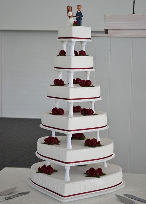 Stor-bryllupskage