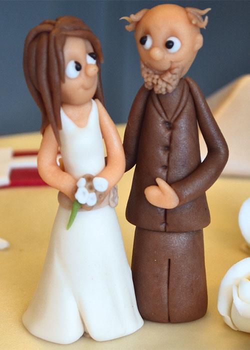 brudepar-til-kage