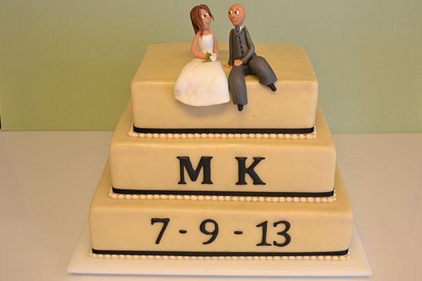 enkel-bryllupskage