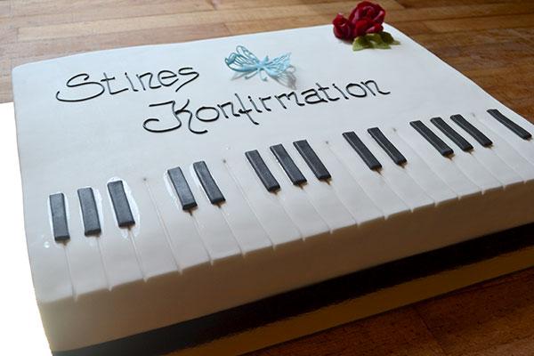 Klaver-kage-konfirmation