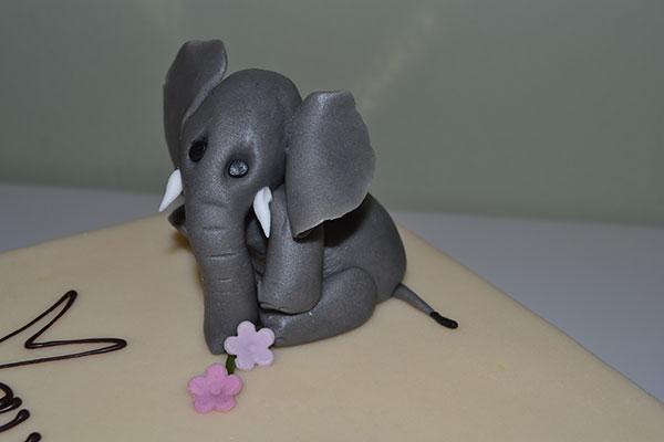 Marcipanfigur-elefant