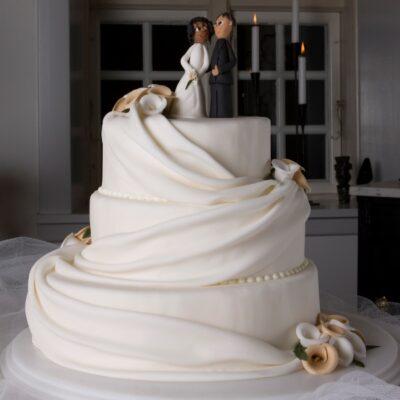Bryllupskagen Romantik