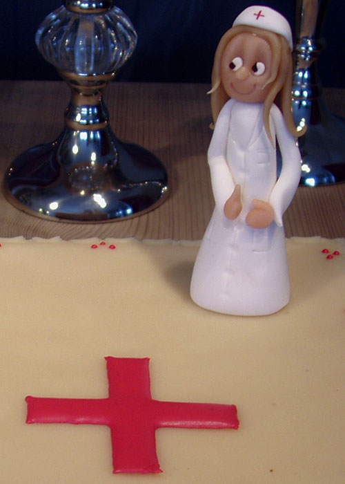 Sygeplejerske-eksamenskage
