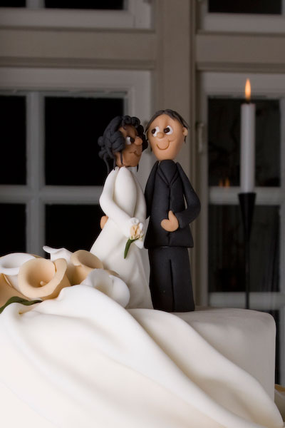 bryllupskage-brudepar
