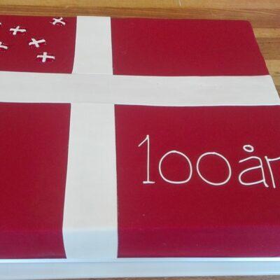 100 år fødselsdagskage